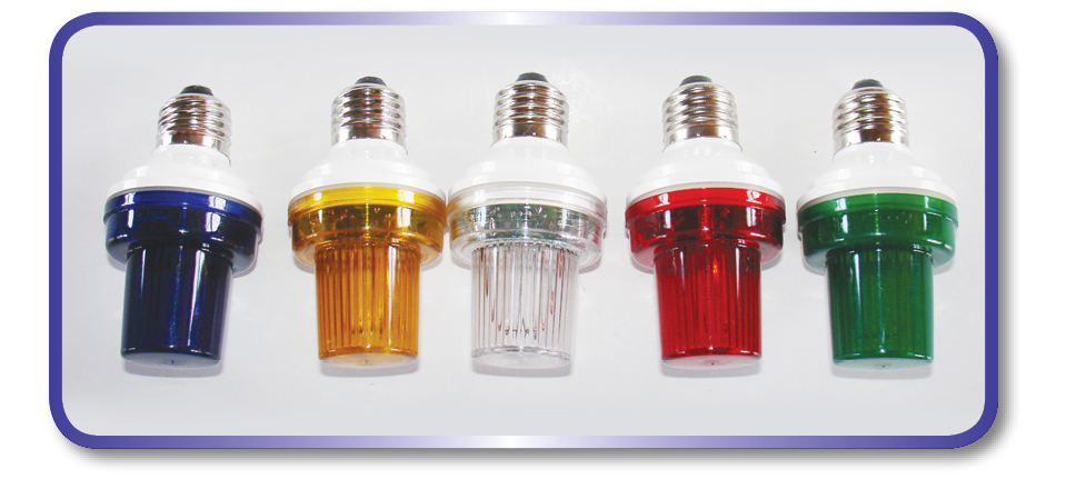 LED Cup Flash Bulb E27