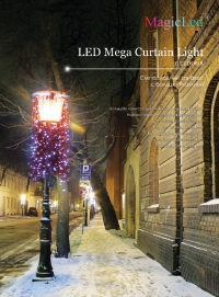 led Mega Curtain light - 300
