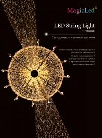 led string light 120-12m1