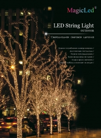 led string light 100-10m