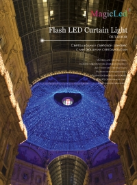 Flash led Curtain light - 600